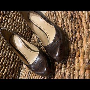 Beautiful Brown High Heel Shoes
